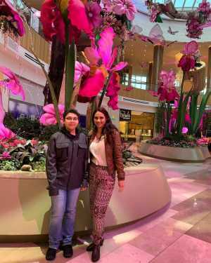 Carlos attended Rocktopia on May 9th 2019 via VetTix