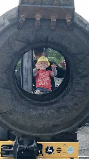 Bobby attended Dozer Days: Where Kids Drive - * See Notes on May 18th 2019 via VetTix