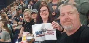 Alan attended P! Nk: Beautiful Trauma World Tour - Alternative Rock on May 9th 2019 via VetTix