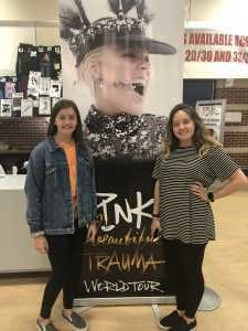 Lance attended P! Nk: Beautiful Trauma World Tour - Alternative Rock on May 9th 2019 via VetTix