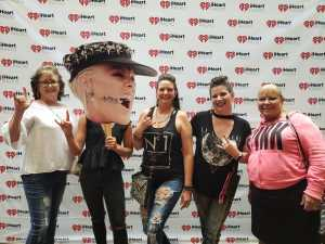 diane attended P! Nk: Beautiful Trauma World Tour - Alternative Rock on May 9th 2019 via VetTix