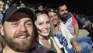 Brandon  attended Kenny Chesney: Songs for the Saints Tour with David Lee Murphy and Caroline Jones on May 16th 2019 via VetTix