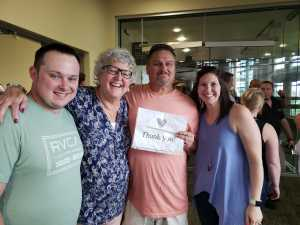 Brent Warner attended Kenny Chesney: Songs for the Saints Tour with David Lee Murphy and Caroline Jones on May 16th 2019 via VetTix