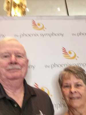 Jim attended Mozart and Brahms on May 12th 2019 via VetTix