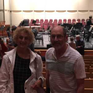 Sari attended Mozart and Brahms on May 12th 2019 via VetTix
