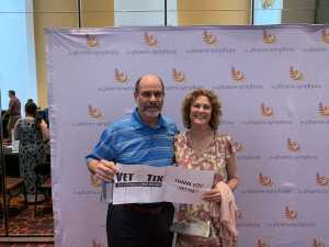 Mark attended Mozart and Brahms on May 12th 2019 via VetTix