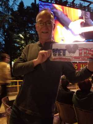 steven attended The Who: Moving on on May 11th 2019 via VetTix