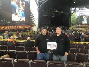 Frank attended The Who: Moving on on May 11th 2019 via VetTix