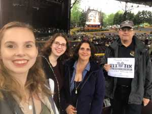 Richard attended The Who: Moving on on May 11th 2019 via VetTix