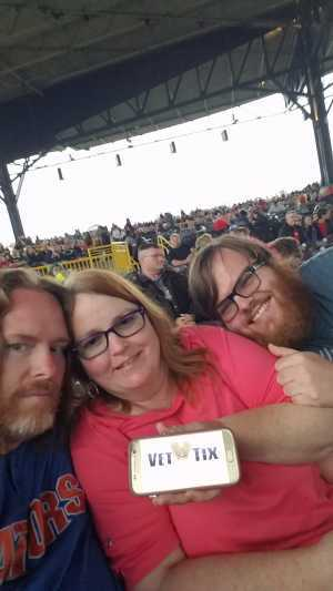 allen attended The Who: Moving on on May 11th 2019 via VetTix