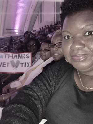 Eva attended Mother's Day Music Festival With Maze Featuring Frankie Beverly - Soul on May 11th 2019 via VetTix