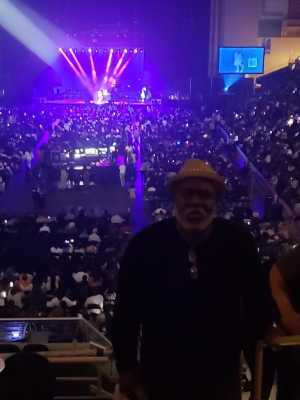 Jeffrey attended Mother's Day Music Festival With Maze Featuring Frankie Beverly - Soul on May 11th 2019 via VetTix