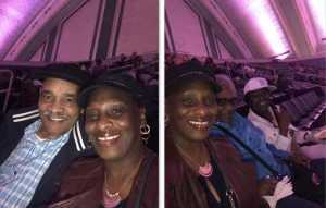 Denise attended Mother's Day Music Festival With Maze Featuring Frankie Beverly - Soul on May 11th 2019 via VetTix