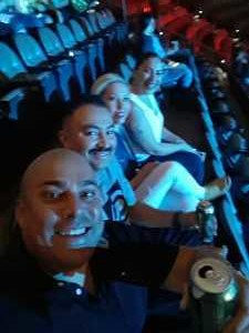 ERNESTO attended Top Rank Boxing: Berchelt vs. Vargas 2 on May 11th 2019 via VetTix