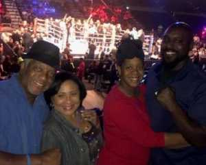 Tony attended Top Rank Boxing: Berchelt vs. Vargas 2 on May 11th 2019 via VetTix