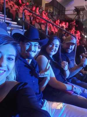 Steve attended Top Rank Boxing: Berchelt vs. Vargas 2 on May 11th 2019 via VetTix