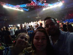 Alvaro attended Top Rank Boxing: Berchelt vs. Vargas 2 on May 11th 2019 via VetTix
