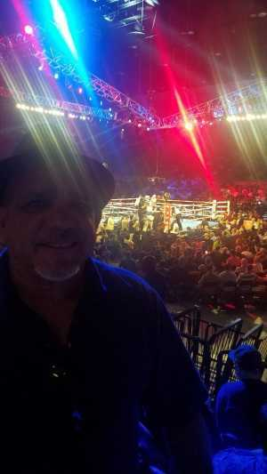 Roberto attended Top Rank Boxing: Berchelt vs. Vargas 2 on May 11th 2019 via VetTix