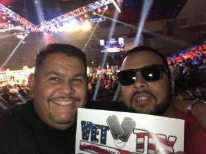 manuel attended Top Rank Boxing: Berchelt vs. Vargas 2 on May 11th 2019 via VetTix