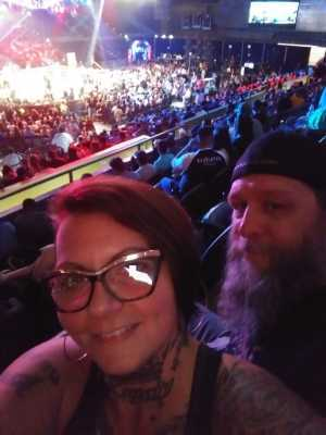Courtney attended Top Rank Boxing: Berchelt vs. Vargas 2 on May 11th 2019 via VetTix