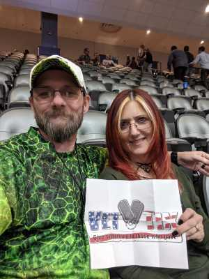 Christopher attended Top Rank Boxing: Berchelt vs. Vargas 2 on May 11th 2019 via VetTix