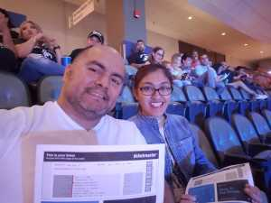 James attended Top Rank Boxing: Berchelt vs. Vargas 2 on May 11th 2019 via VetTix