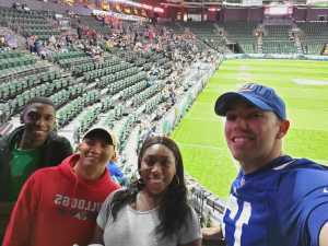 george attended Denver Dream vs. Seattle Mist - Legends Football League - Women of the Gridiron on Jun 8th 2019 via VetTix