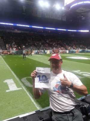 Mark attended Denver Dream vs. Seattle Mist - Legends Football League - Women of the Gridiron on Jun 8th 2019 via VetTix