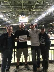 Justin attended Denver Dream vs. Seattle Mist - Legends Football League - Women of the Gridiron on Jun 8th 2019 via VetTix