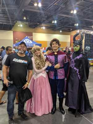 Carlos attended Phoenix Fan Fusion - Thursday Only Passes on May 23rd 2019 via VetTix