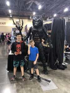 Joshua attended Phoenix Fan Fusion - Thursday Only Passes on May 23rd 2019 via VetTix
