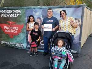M.Hernandez attended Phoenix Fan Fusion - Thursday Only Passes on May 23rd 2019 via VetTix