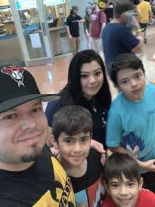 Jose attended Phoenix Fan Fusion - Thursday Only Passes on May 23rd 2019 via VetTix