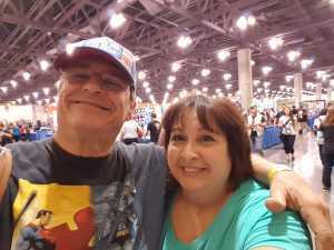 Jeffery attended Phoenix Fan Fusion - Thursday Only Passes on May 23rd 2019 via VetTix