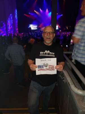 Franklin attended Back to the Eighties Show With Jessie's Girl - Undefined on Jun 7th 2019 via VetTix