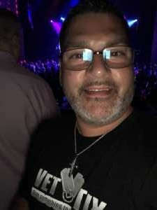 Marcos attended Back to the Eighties Show With Jessie's Girl - Undefined on Jun 7th 2019 via VetTix