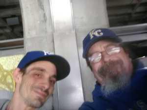 Ted attended Kansas City Royals vs. Philadelphia Phillies - MLB on May 12th 2019 via VetTix