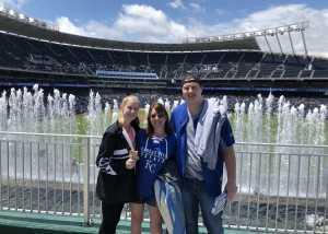 Norman attended Kansas City Royals vs. Philadelphia Phillies - MLB on May 12th 2019 via VetTix