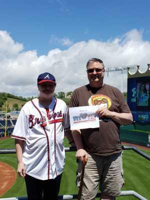 Kelly attended Kansas City Royals vs. Philadelphia Phillies - MLB on May 12th 2019 via VetTix