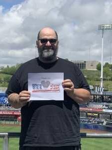 Stephen attended Kansas City Royals vs. Philadelphia Phillies - MLB on May 12th 2019 via VetTix