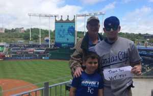Patrick attended Kansas City Royals vs. Philadelphia Phillies - MLB on May 12th 2019 via VetTix