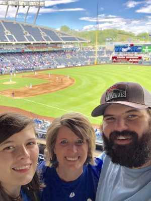 Michelle attended Kansas City Royals vs. Philadelphia Phillies - MLB on May 12th 2019 via VetTix