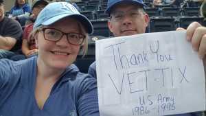 Mark  attended Kansas City Royals vs. Philadelphia Phillies - MLB on May 12th 2019 via VetTix