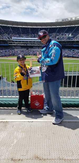 Ricardo attended Kansas City Royals vs. Philadelphia Phillies - MLB on May 12th 2019 via VetTix