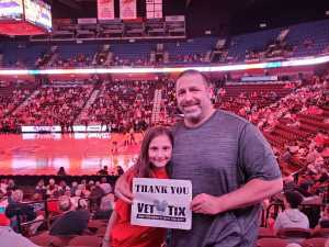 George attended Connecticut Sun vs. Los Angeles Sparks - WNBA - Basketball on Jun 6th 2019 via VetTix
