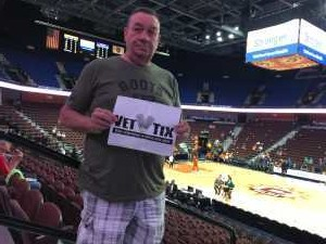 Thomas attended Connecticut Sun vs. Los Angeles Sparks - WNBA - Basketball on Jun 6th 2019 via VetTix