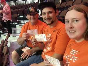 Paul attended Connecticut Sun vs. Los Angeles Sparks - WNBA - Basketball on Jun 6th 2019 via VetTix