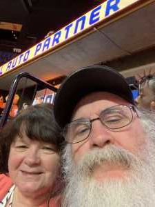 Charles attended Connecticut Sun vs. Washington Mystics - Home Opener - WNBA - Basketball on Jun 11th 2019 via VetTix