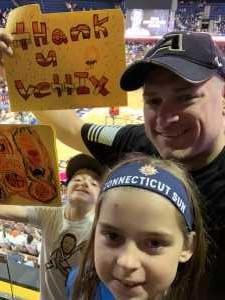 Eric attended Connecticut Sun vs. Seattle Storm - WNBA - Basketball on Jun 16th 2019 via VetTix