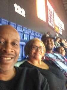 James attended Connecticut Sun vs. Seattle Storm - WNBA - Basketball on Jun 16th 2019 via VetTix